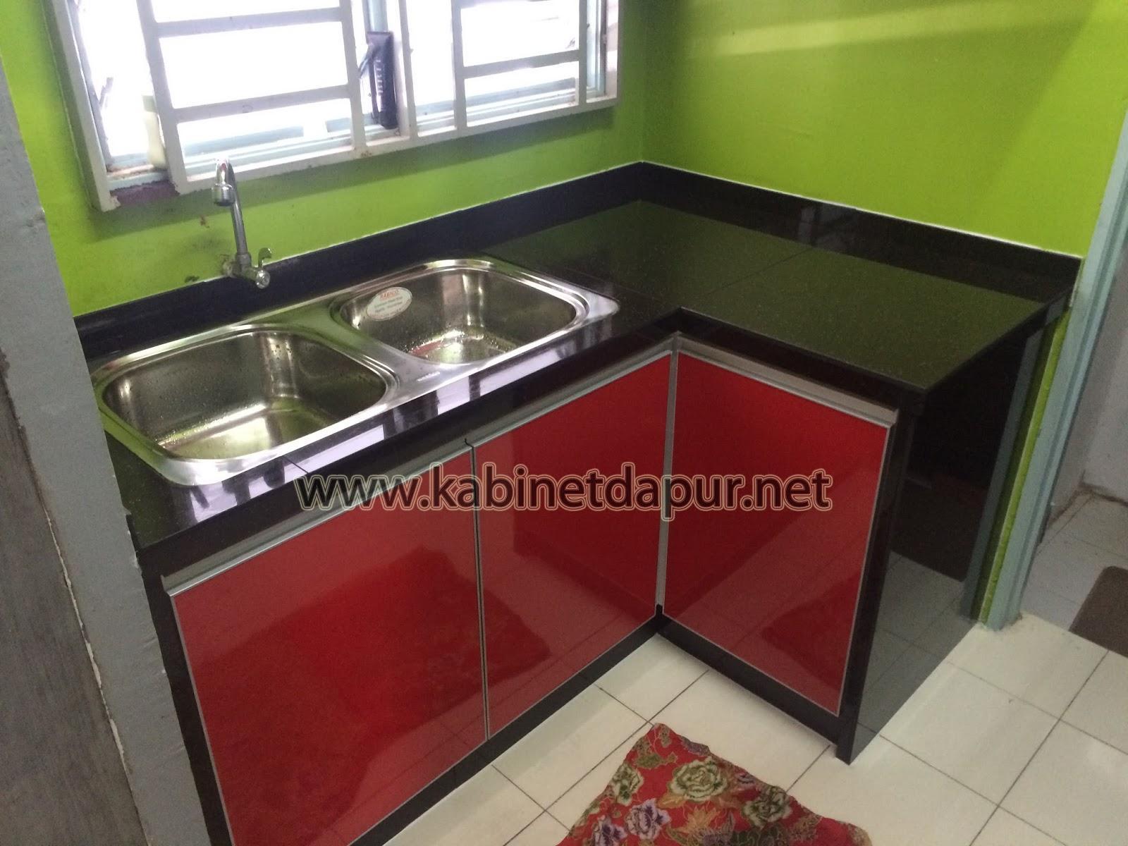 Projek Kabinet Dapur Aluminium Di Flat Dato Bar Tel 0124934710 En