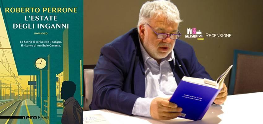 L'estate degli inganni, di Roberto Perrone - Recensione, libri, scrittori