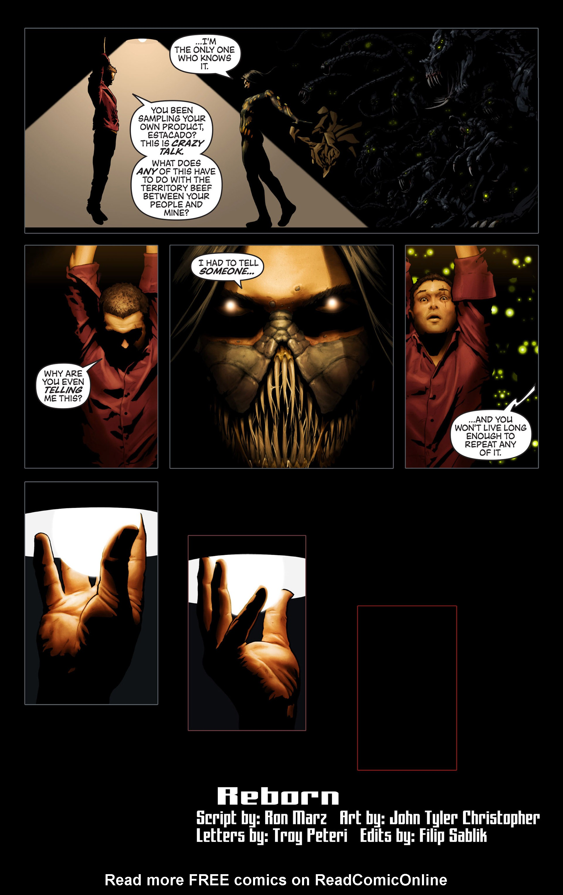 Read online Artifacts comic -  Issue #14 - 6