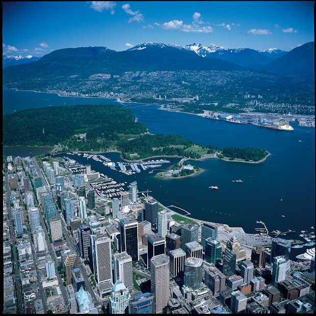 World Visits Vancouver Skyline Attraction City Of British