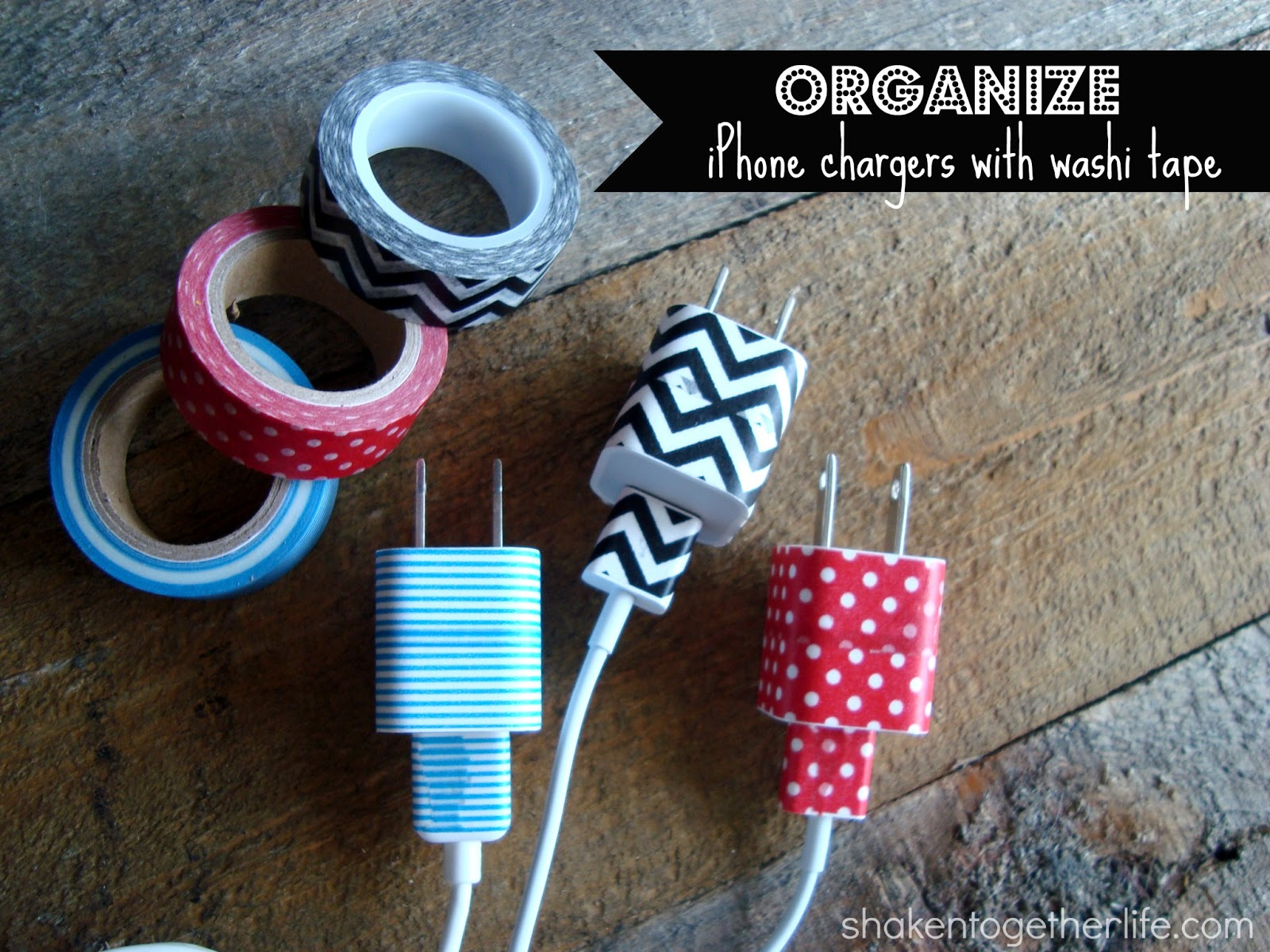 Who Has My Charger Is A Frequently Used Phrase In The Bett Household Until Now Behold Organize Your Iphone Chargers With Washi Tape