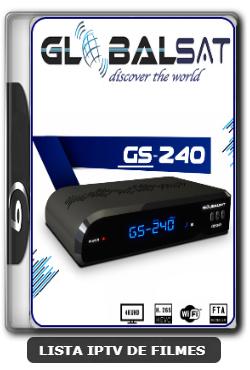 Globalsat GS240 Nova Atualização Melhorias no sistema SKS e IKS V2.65 - 09-06-2020