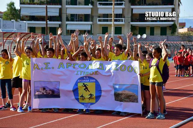 Έναρξη αθλητικής αγωνιστικής περιόδου για το τμήμα στίβου του Αργολίδα 2000