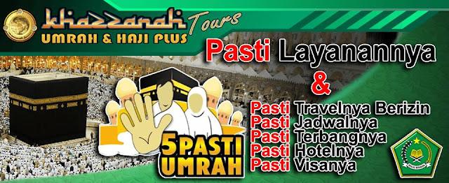 Paket umrah 2016 Khazzanah Tour