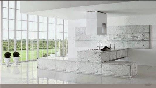 decoração cozinha moderna e luxuosa e design de móveis