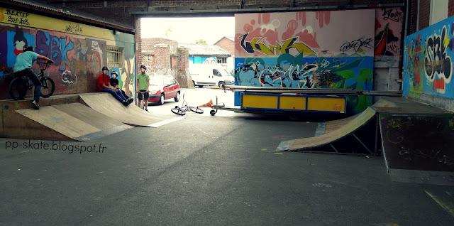 Skatepark Cambrai débutants