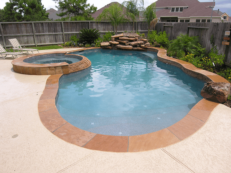 Custom Free From Inground Rock Pools DFW  0