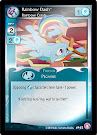 My Little Pony Rainbow Dash, Rainbow Crash Absolute Discord CCG Card