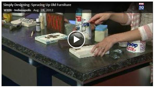 Ways to Spruce up Old Furniture {Fox59} 5