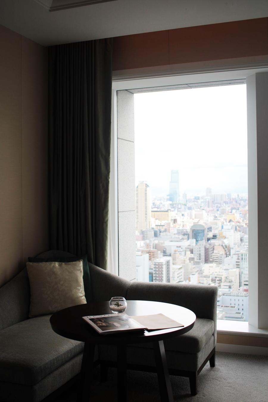 skyline view hotel room osaka tokyo st regis