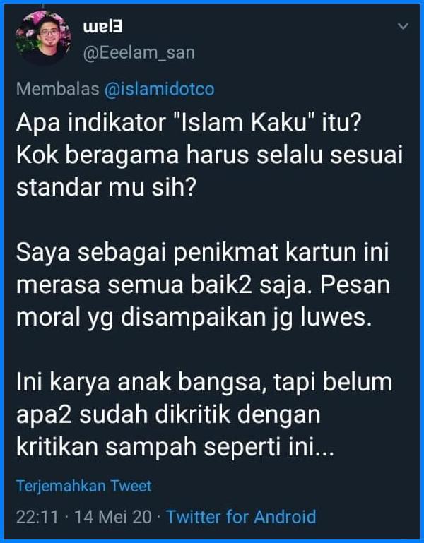 Film Animasi Nussa-Rara Dituduh Islam Kaku, Iri Ya?