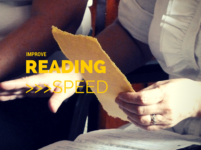 tips for increasing reading speed