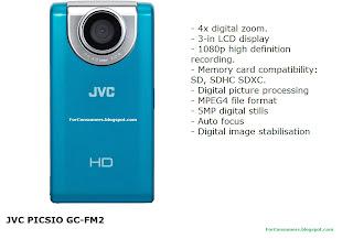 JVC PICSIO GC-FM2 blue