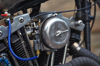 sportster xlh 1972 cafe dragster by elkabikes air filter
