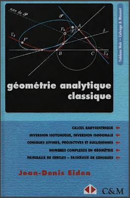 Télécharger Livre Gratuit Géométrie analytique classique pdf