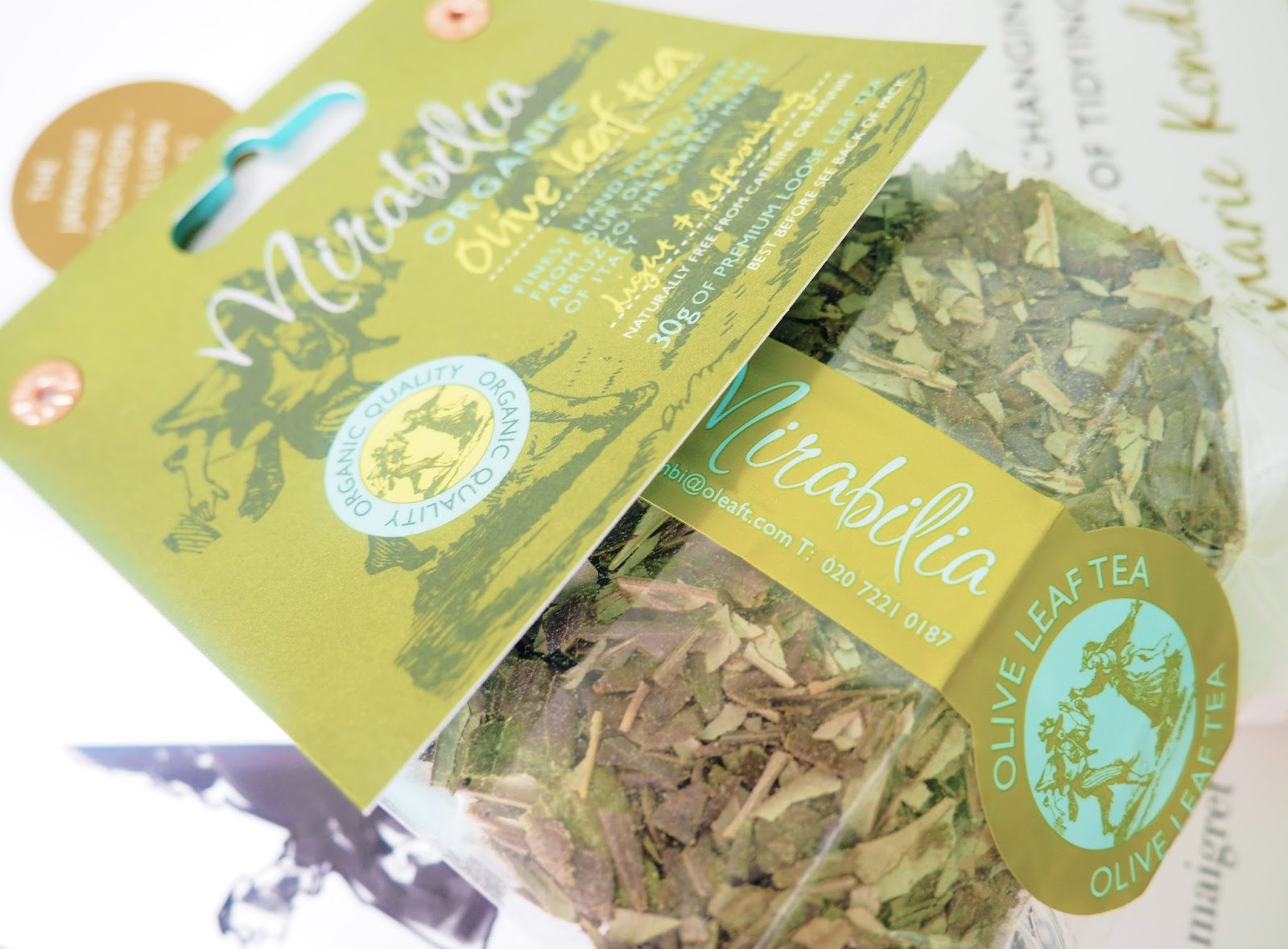 Mirabilia Olive Leaf Tea Review