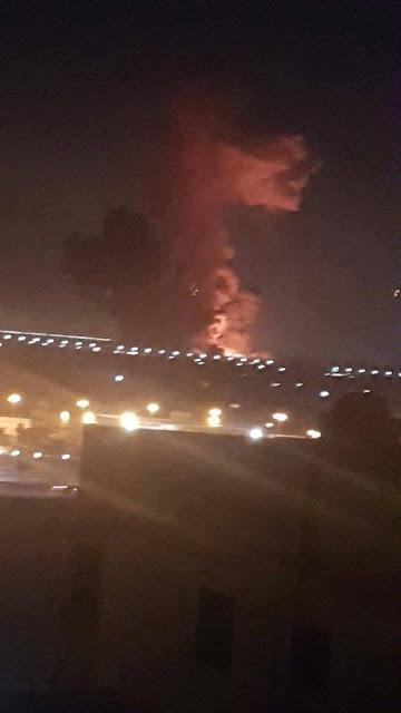 انفجار مطار القاهرة الدولي 2018