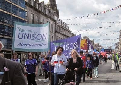 May Day celebrates solidarity across borders as polticians, trades unionists and citizens take to the streets