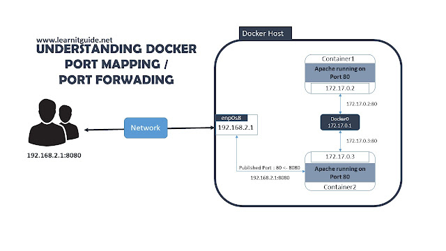 Understanding Docker Port Mapping to Bind Container Ports