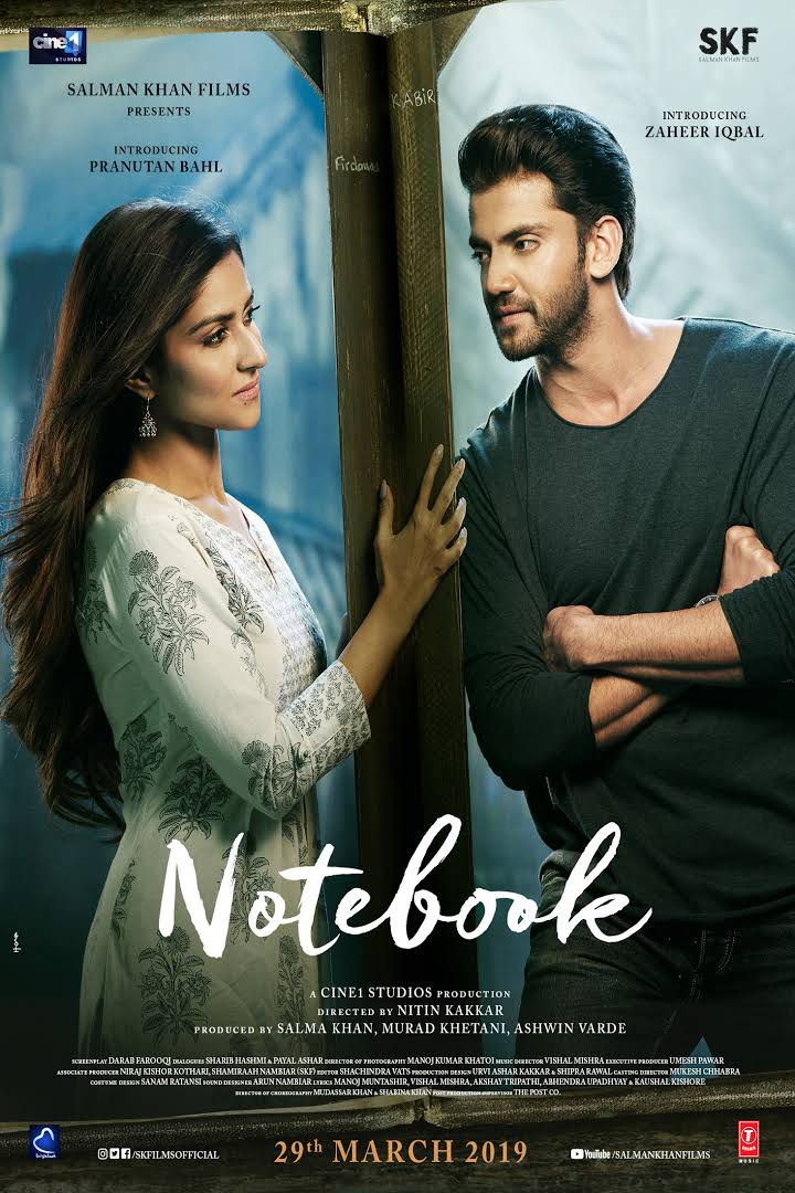 Notebook (2019) Hindi 550MB HDRip 720p HEVC x265 ESubs Free Download