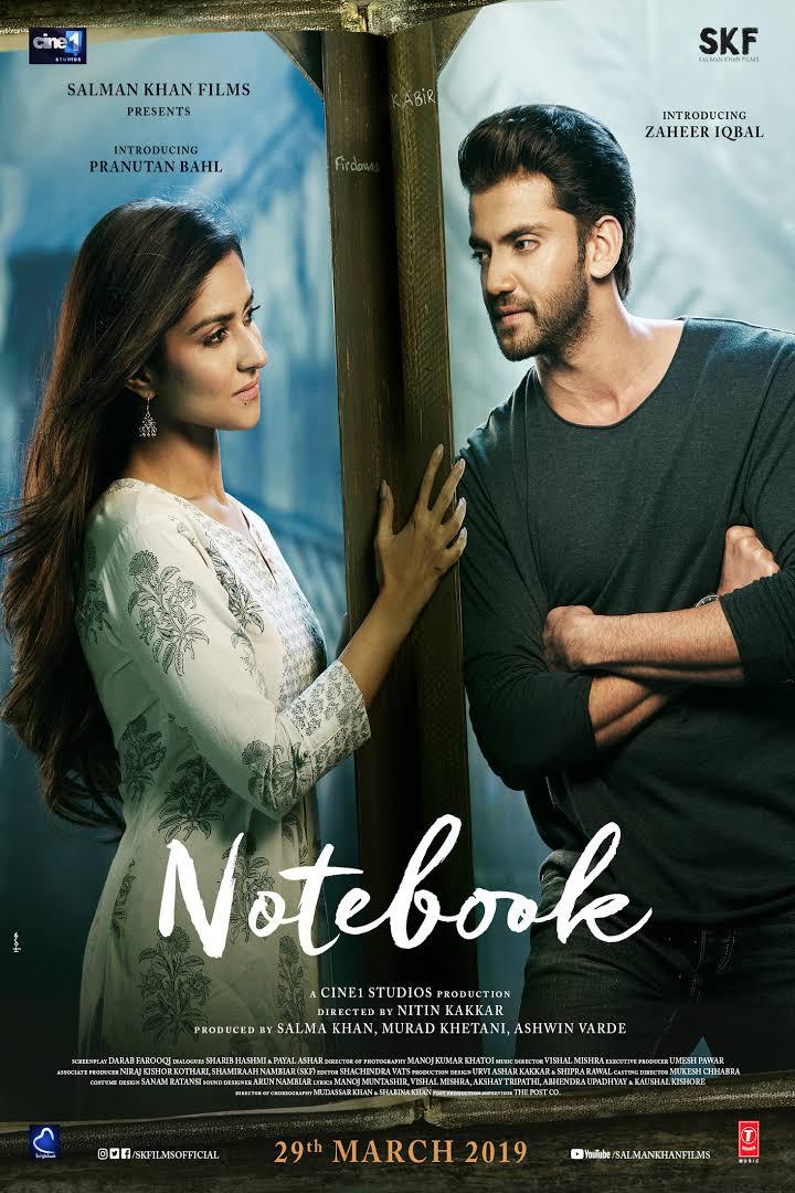 Notebook (2019) Hindi 550MB HDRip 720p HEVC x265 ESubs