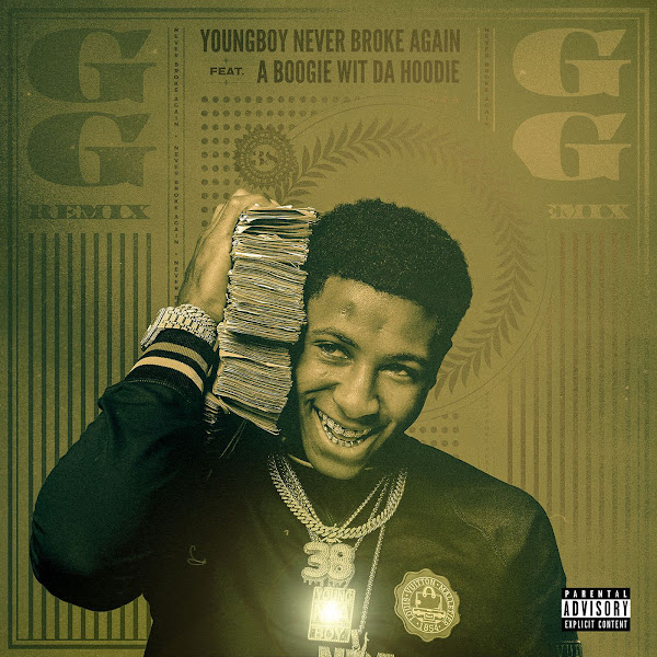 YoungBoy Never Broke Again - GG (Remix) [feat. A Boogie wit da Hoodie] - Single Cover
