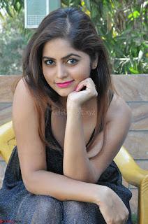 Pragya Nayan New Fresh Telugu Actress Stunning Transparent Black Deep neck Dress ~  Exclusive Galleries 071.jpg