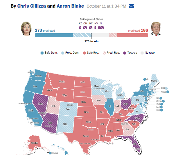 The Sorcerers Apprentice Polls - New york times electoral map