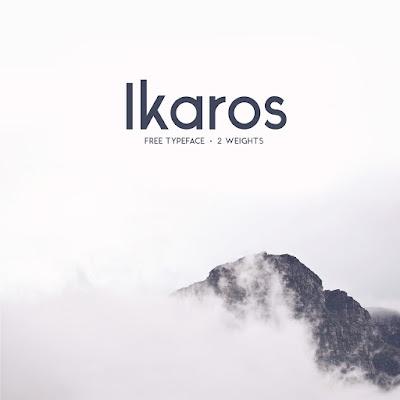 Ikaros is a free modern / minimal typeface.