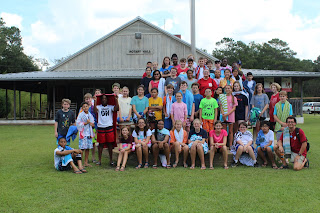 Montgomery Catholic 7th Graders Experience Camp Chandler 1