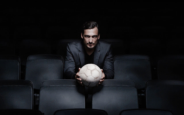 SUCCESS ISN'T BORN. IT'S MADE - Mats Hummels für BOSS