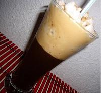 como preparar un postre con cafe