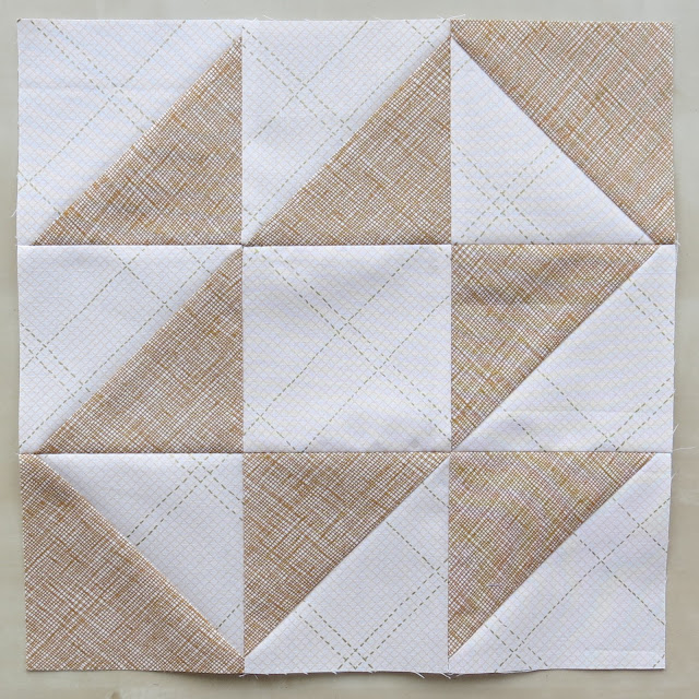 HST Quilt-Along - Block Cat's Cradle - Carolyn Friedlander fabrics