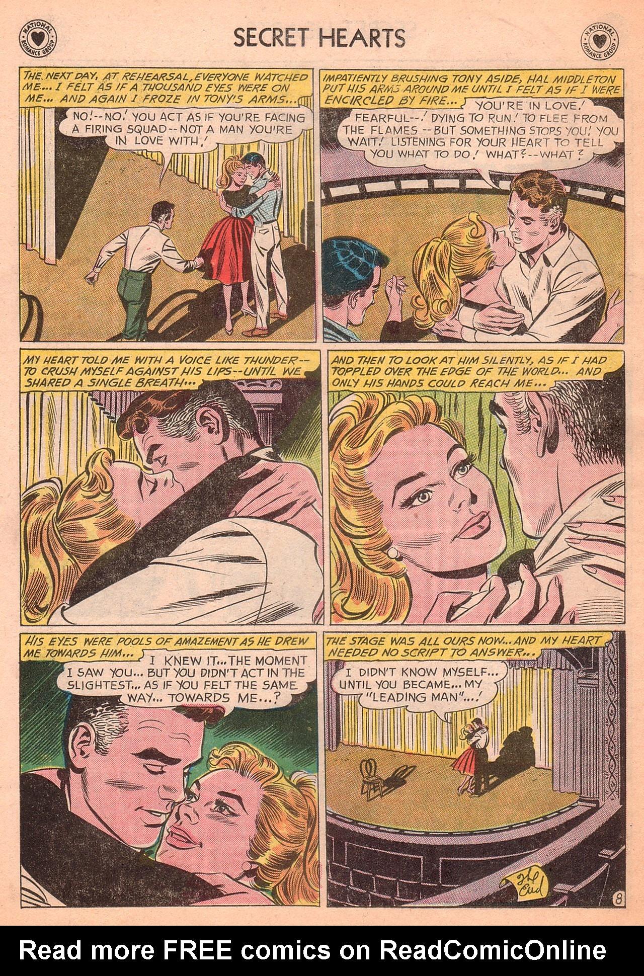 Read online Secret Hearts comic -  Issue #77 - 34
