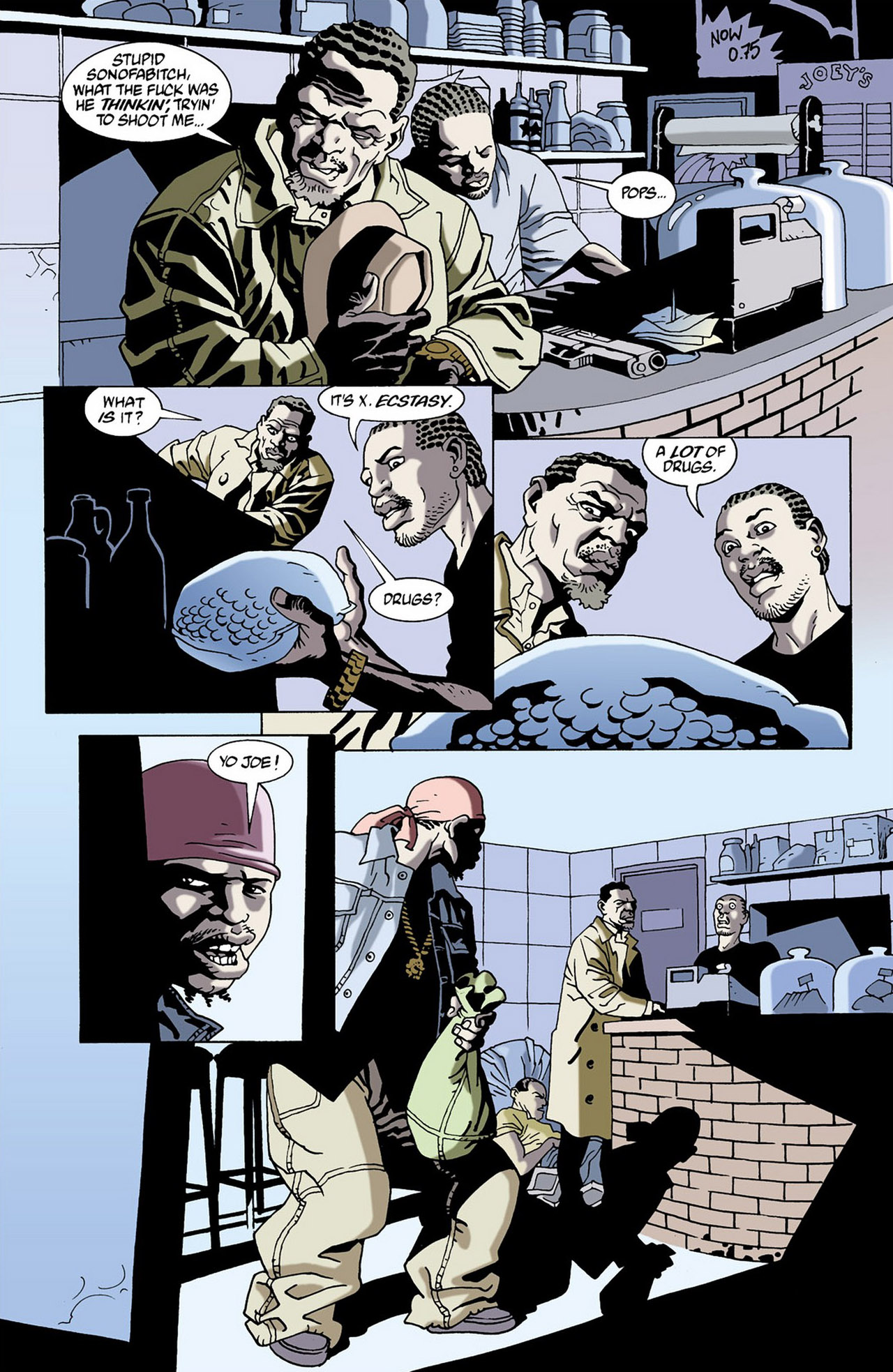 Read online 100 Bullets comic -  Issue #16 - 18