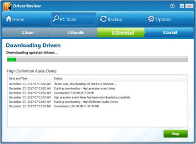 Screenshot Driver Reviver 5.25.3.4 Full Version