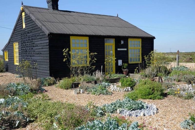 Jardín de del artista Derek Jarman en Dungeness