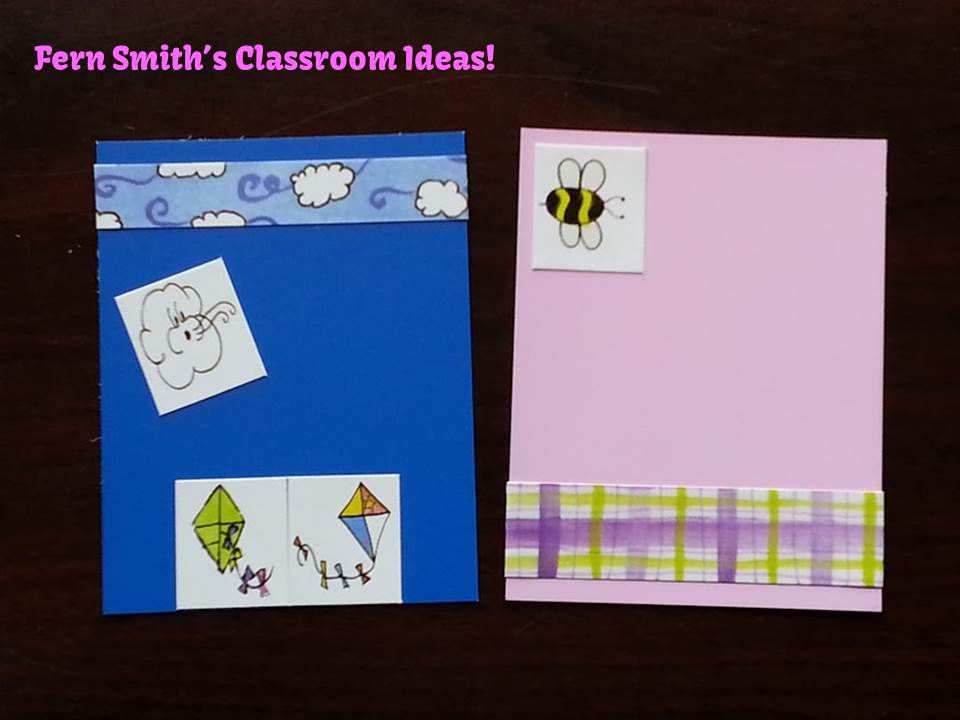 Fern Smith's Classroom Ideas Quick and Easy Spring Bookmarks with Paint Sample Cards