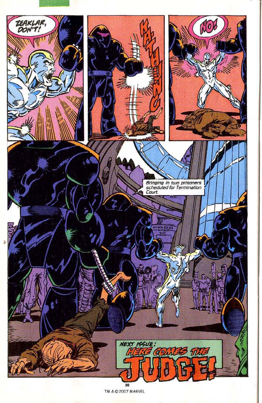 Read online Silver Surfer (1987) comic -  Issue #42 - 32