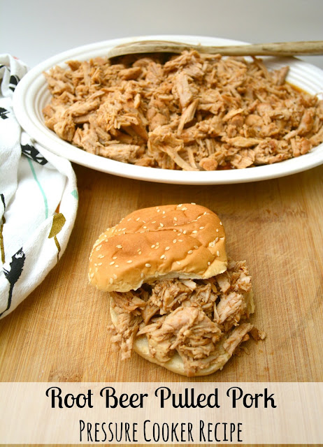 root beer pulled pork pressure cooker recipe