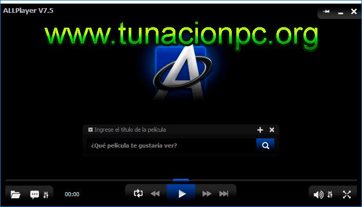 AllPlayer, Multimedia Player Imagen