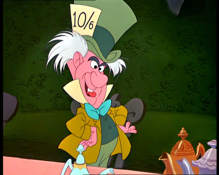 Utter Piffle: Disney Daze: Week 13: Alice in Wonderland
