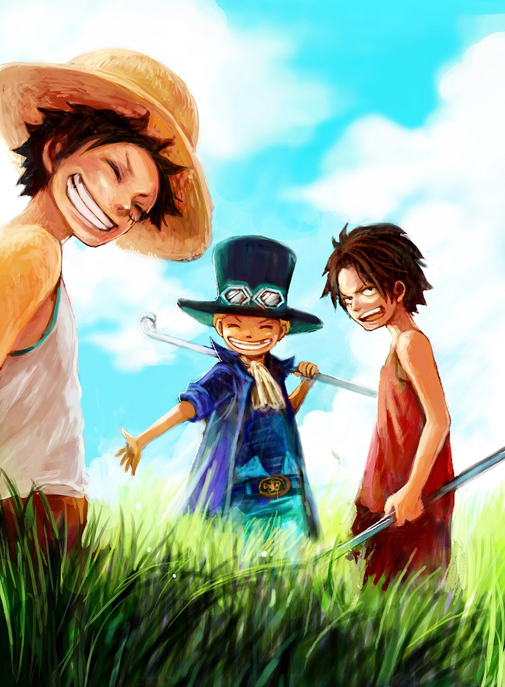 One Piece - Luffy family | Animez Wallpaper
