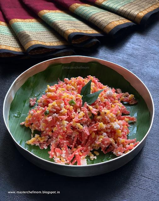 Carrot Kosumalli Recipe
