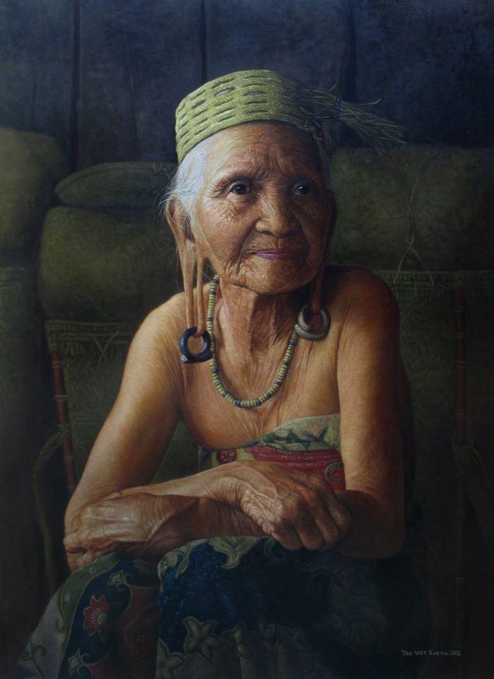 Художник-самоучка. Tan Wei Kheng