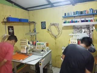 Kursus punching desain dan tehnik bordir