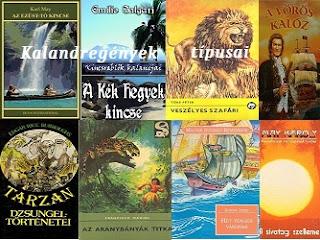 Kalandregények, legjobb kalandkönyvek típusai, fajtái