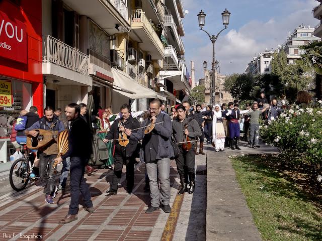 Άρωμα Κρήτης στους δρόμους της Θεσσαλονίκης