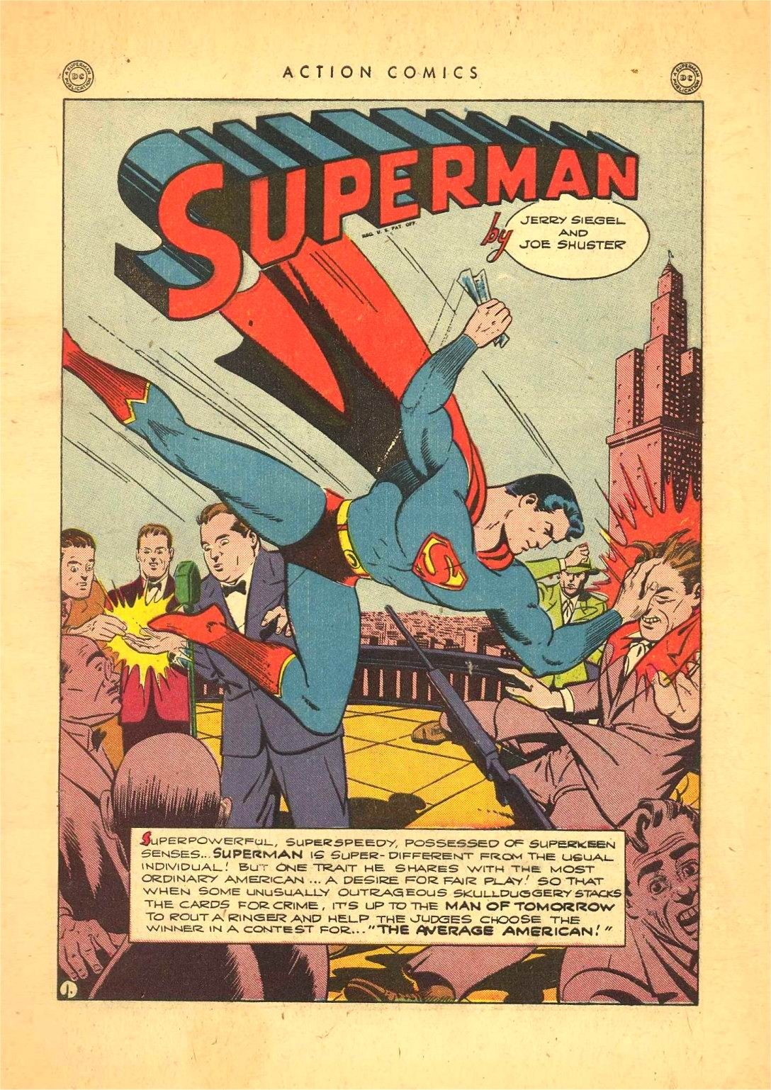 Read online Action Comics (1938) comic -  Issue #92 - 3