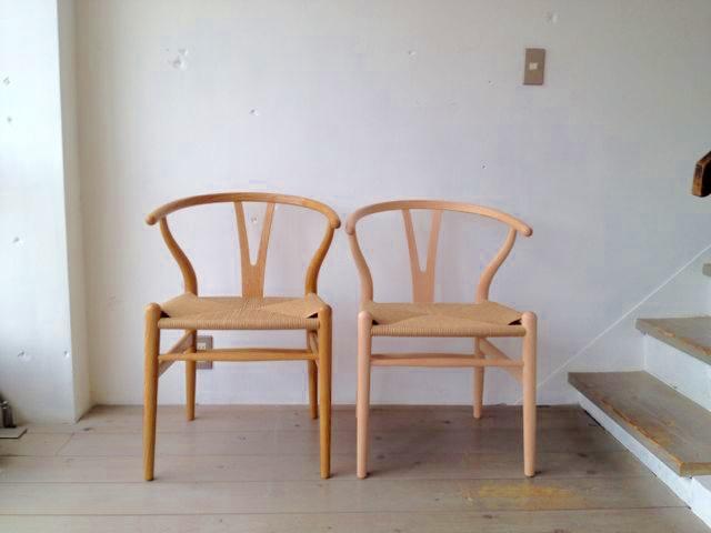 CH24(Yチェア)はハンス・J・ウェグナーのデザインで有名な椅子です。